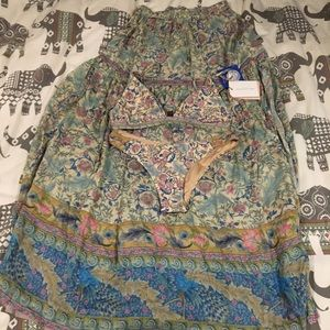 Spell & The Gypsy Collective Swim - SOLD 💔 Oasis set (skirt and bikini)